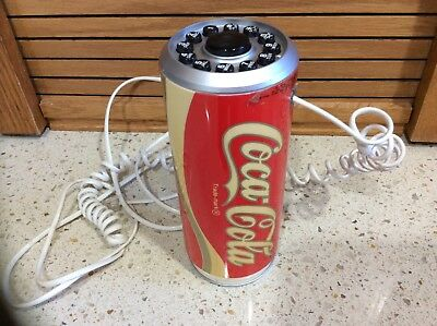 1985 COCA-COLA Metal Coke Can Phone