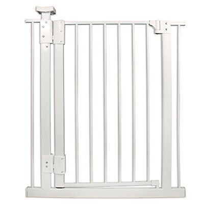 """Four Paws Metal Hands-Free Dog Gate 30-34 x 32"""""""