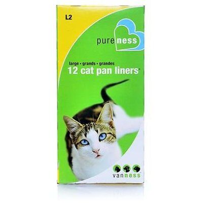 Van Ness Products Van Ness Pan Liners Dl0 Small 10 Liners - 12 per pack Clean Up