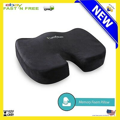New Seat Posture Cushion Memory Foam For Pain Relief Sciatica Support Pillow