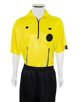 7d4f26636 YELLOW NEW USSF Pro Soccer Referee Jersey -  24.95