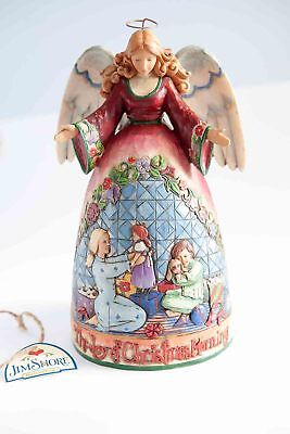 Angel The Joy of Christmas Morning Figure Jim Shore Heartwood Creek Boxed NEW