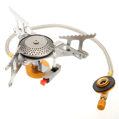 Outdoor Camping Picnic Portable Gas Power Stove Butane Propane Burner Cooker