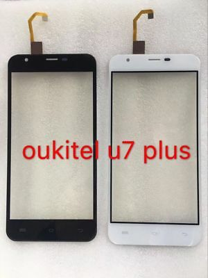 """Touch Screen Front Glass Lens Glass Digitizer Display For Oukitel U7 Plus 5.5"""""""