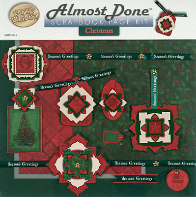 Almost Done Scrapbook Page Kits - Hot Off The Press - Various