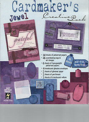 "CARDMAKER'S ""Jewel"" CREATIVE PACK  Hot Off the Press"