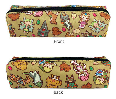 The Legend of Zelda Stationery bags Pouch Zipper Canvas Pencil Bag Cosmetic Case