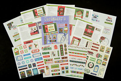 """Cardmaker's """"Christmas"""" Clear & Frosted Overlays"""