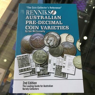 2010 2nd Edition Renniks Australian Pre Decimal Coin Varieties by Ian McConnelly