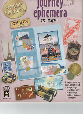 Paper Pizazz Journey Ephemera SCRAPBOOKING