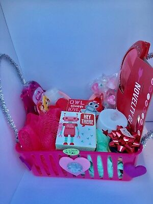Spa Bath And Body Works Gift Basket Set Shower Soap For Her Women Mom