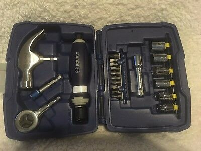 KOBALT 21-Piece Speed Fit Driver Bit Socket + Hammer + Screw SET NEW
