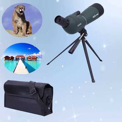 20-60x60 Zoom High Precision Spotting Scope Telescope Monocular Tripod Angled