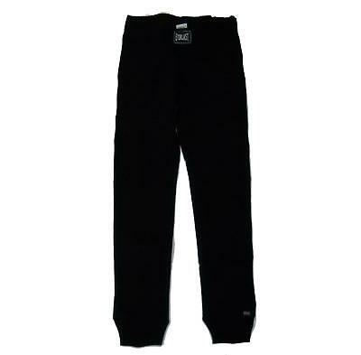 Trousers sweatshirt EVERLAST woman sport winter cuff no pockets leggings black