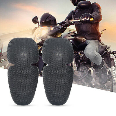 Motorcycle Motocross Adult Elbow Knee Shin Protector PU Shells Insert Pads