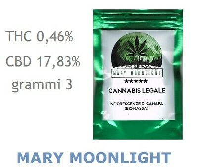 MARY MOONLIGHT - GREEN SOUL 3g - Marjiuana Legale - Cannabis light