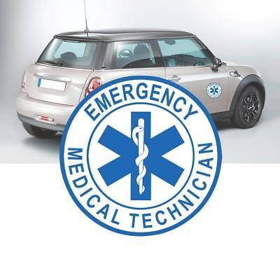Emergency Medical Technician Sticker gestanzte Aufkleber Stern des  Nice