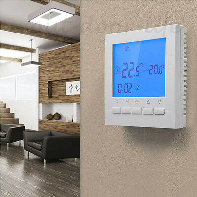Wifi LCD Digital Display Electronic Room ProgrammableThermostat Heating Control