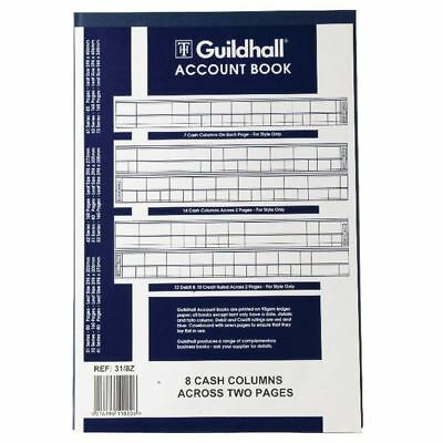Guildhall Account Book 80 Pages 8 Cash Columns 31/8 1020 [GH318]