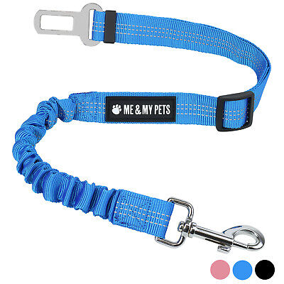 Me & My Pets Anti Shock Dog/Pet Seat Belt Lead Clip Car/Travel Safety Harness