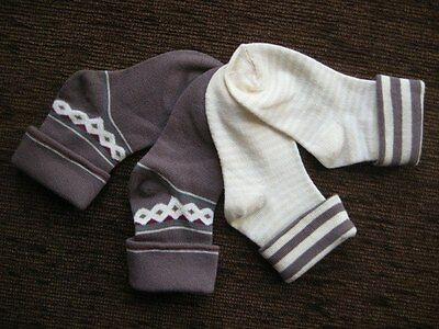 Boys 2 Pack Socks Brown 3-5.5 19-22 Brand New Baby Boutique Tesco