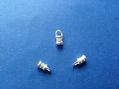 Sterling Silver 925 Crimp End 3.0mm