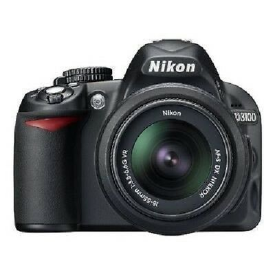 USED Nikon D3100 with AF-S 18-55mm f/3.5-5.6 VR Excellent FREE SHIPPING