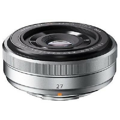 USED Fujifilm XF 27mm f/2.8 Silver Excellent FREE SHIPPING