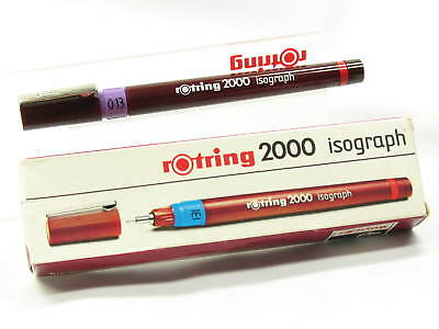 Rotring 2000 Isograph 0,13 mm Tuschefüller