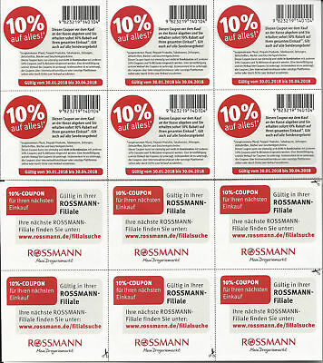 Dm coupons 2018