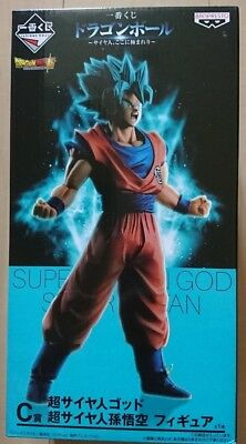 BANPREST Dragon Ball Super Ichiban Kuji SSGSS Son Goku (C Prize)  Japan import