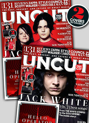Jack White - Uncut Magazine + CD OCTOBER 2017 (NO BARCODE)