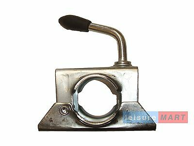 48mm Maypole split clamp for use on medium duty jockey wheels prop stands MP424
