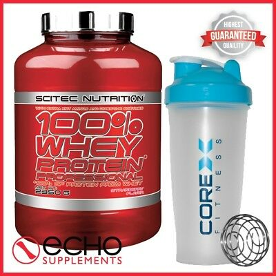1be8c3bbf Scitec Nutrition 100% Whey Protein Professional (2350g) + FREE CoreX Shaker