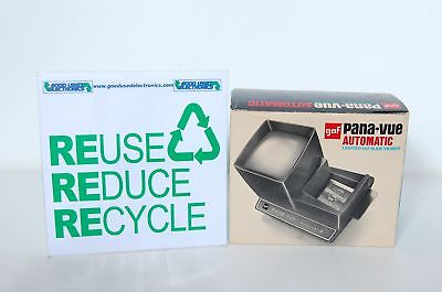 GAF Pana-Vue Automatic Lighted 2X2 Slide Viewer