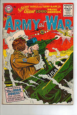 Our Army at War #51 (1956) RARE **RESTORED**
