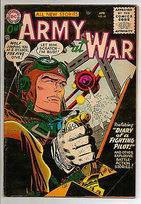 Our Army at War #45 (1956) RARE