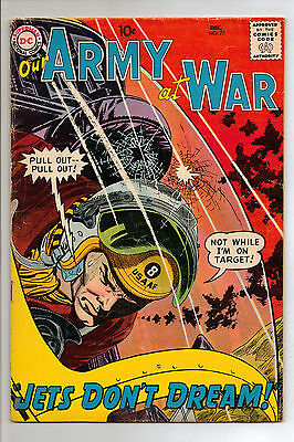 Our Army at War #77 (1958) RARE