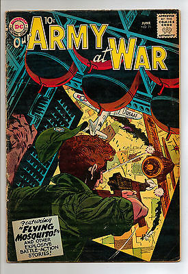 Our Army at War #71 (1958) RARE
