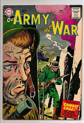 Our Army at War #69 (1958) RARE