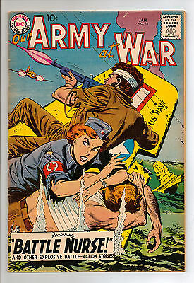 Our Army at War #78 (1958) RARE