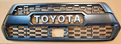 2018 - 2019 Toyota Tacoma TRD Pro Grille with Sonar Sensor Cover & Clips
