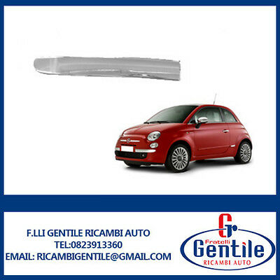 Fiat 500 Trim Strip Chrome Bumper Front Left 735455057 735511639