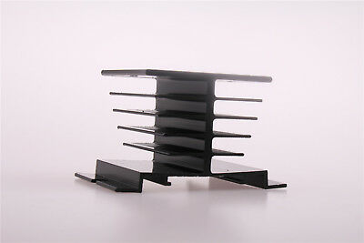 1X Aluminum Heat Sink for Solid State Relay SSR Heat Dissipation 10A-40A