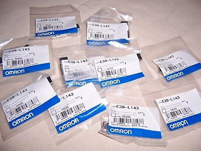 Omron E39-L143 Lot Of 10 Brackets New