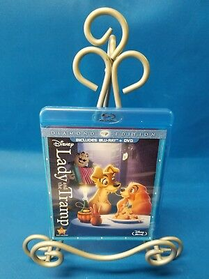 LADY AND THE TRAMP (Blu-ray/DVD, 2012, 2-Disc Set, Diamond Edition) DISNEY