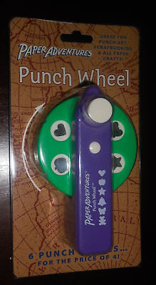 Paper Adventures Punch Wheel TROPICAL Six 6 Punches