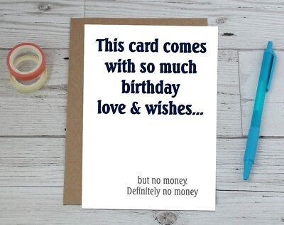Funny Birthday Card Adult Humour Greeting Cards Birthday Cards