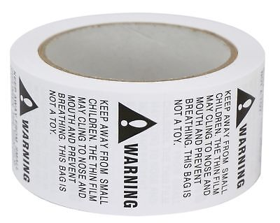 "2 Rolls/1000 Labels,Suffocation Warning,Keep Away from Small Children,2"" X 2""..."