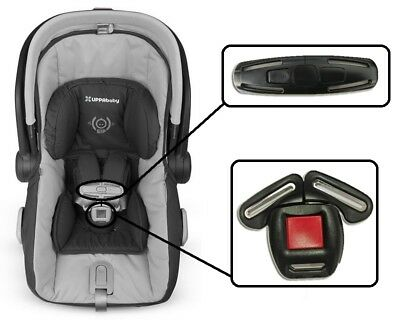 For UPPABABY MESA INFANT CAR SEAT BUCKLE & CLIPS For Infant Car Seat Replacment